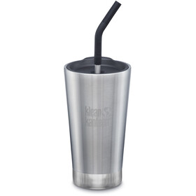 Klean Kanteen Tumbler Mug 473ml Vacuum Insulated, brushed stainless